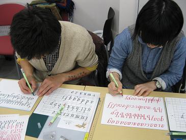 書き取り練習中.JPG