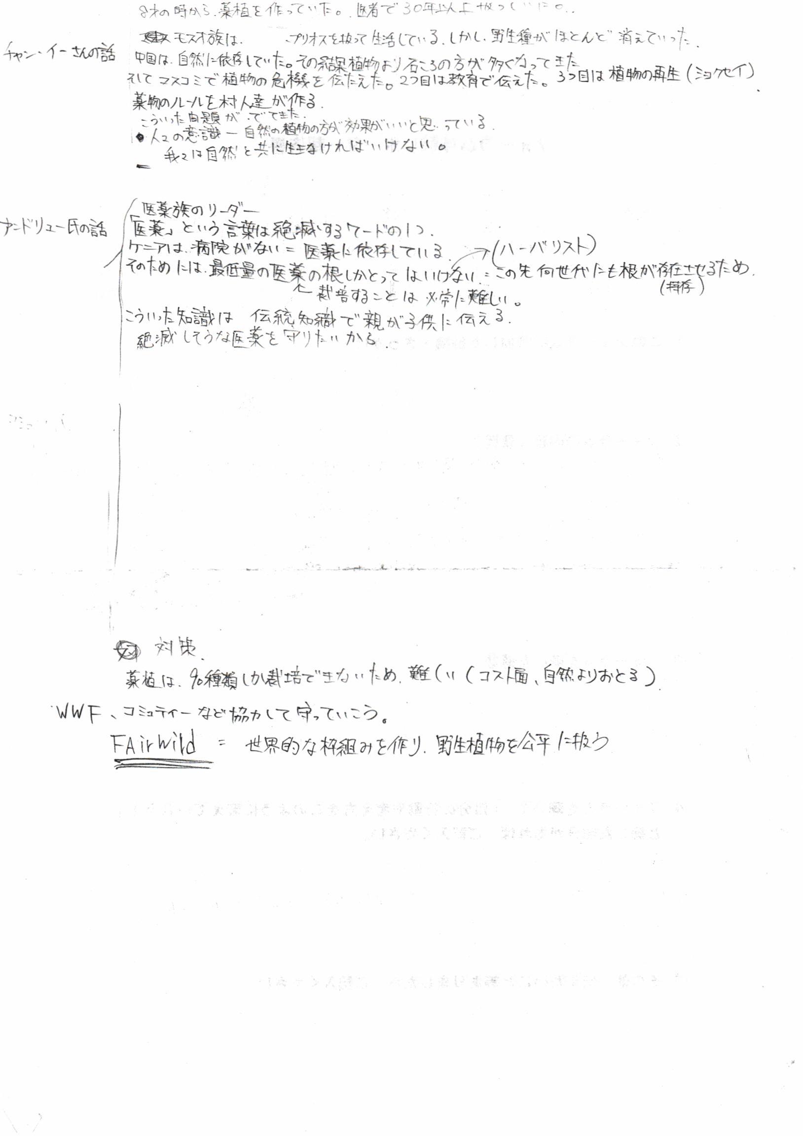 フォーラム体験レポーター報告渡邉和揮2
